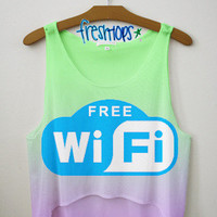 Free Wifi Crop | fresh-tops.com