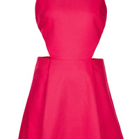 Plain Pique Cutout Sundress - Dresses - Clothing - Topshop USA