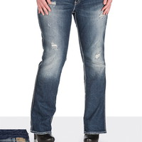 Silver Jeans Co. ® Suki Destructed Jeans- Regular