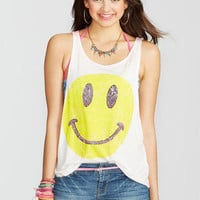 Smiley Face with Stud Tank