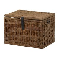 "BYHOLMA Chest, brown - 28 ¼x19 ¾x19 ¾ "" - IKEA"