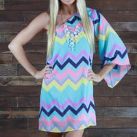Brides Bestie Chevron Dress