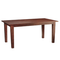 Torrance Dining Table - Mahogany 84""