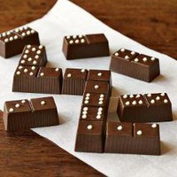 Chocolate Caramel Dominoes