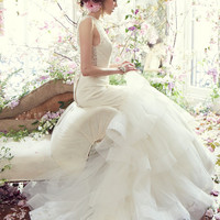 Bridal Gowns, Wedding Dresses by Tara Keely - Style tk2354