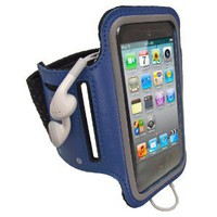 Amazon.com: iGadgitz Blue Reflective Anti-Slip Neoprene Sports Gym Jogging Armband for Apple iPod Touch 2nd, 3rd & 4th Generation 8gb, 16gb, 32gb & 64gb: Cell Phones & Accessories
