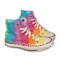 Converse Rainbow Tie Dye High Top