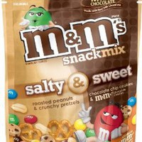 M&M's Snack Mix Milk Chocolate, 8-Ounce: Amazon.com: Grocery & Gourmet Food