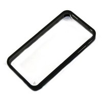 Amazon.com: Zehui New Black Back Clear Hard Coating Cover Case W/colored Bumper for Iphone 4g 4s 4gs: Cell Phones & Accessories