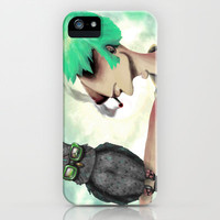 Punk N' A Bird iPhone & iPod Case by Ben Geiger