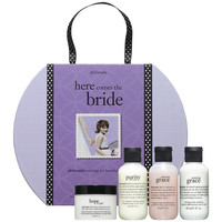 Sephora: Philosophy : Here Comes The Bride  : gift-value-sets-bath-body