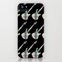 Electric Guitars iPhone & iPod Case by Ornaart