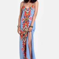 Bali Nights Floral Maxi Dress