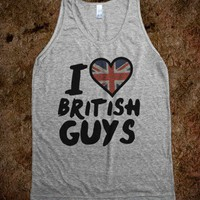 I Heart British Guys - Shirt Jealousy - Skreened T-shirts, Organic Shirts, Hoodies, Kids Tees, Baby One-Pieces and Tote Bags