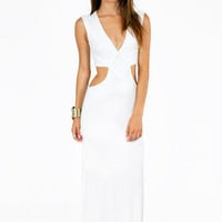 Justine Side Slit Maxi Dress $39