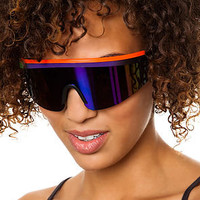 Replay Vintage Sunglasses The Tri Lambda Sunglasses in Orange Multi