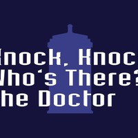 Knock Knock! Who's There? The Doctor T-Shirt | SnorgTees