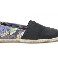 Black Tropical Rope Sole Men's Classics