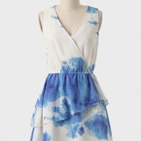 Look No Further Watercolor Dress