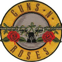 C&D Visionary Guns N Roses Bullet Patch Accessories Patches at Broken Cherry