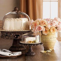 GG Collection?-?Cake and Cheese/Dessert Domes & Pedestals?-?Neiman Marcus