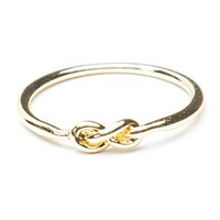 Brandy ♥ Melville |  Gold Knot ring - Jewelry - Accessories