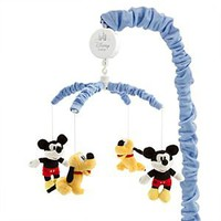 Mickey Mouse and Pluto Musical Mobile for Baby | Disney Store