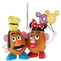Figurine Mrs. Potato Head and Mr. Potato Head Ornament | Disney Store