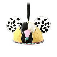 Cruella De Vil Ear Hat Ornament | Disney Store
