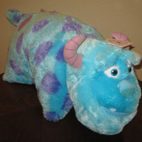 DISNEY PARKS SULLY FROM MONSTERS INC. PILLOW PET - BRAND NEW