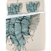 DENY Designs Home Accessories | Gabi Birds Of A Feather 1 Sheet Set
