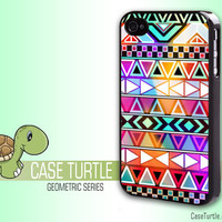 Aztec Iphone case Glowing Iphone 4 case awesome and cool Glow Bright  iphone case (GS001)