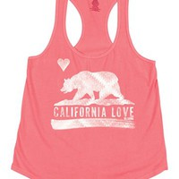 Billabong Flower Bear Tank Top - Coral Kiss - J4221FLO				 |  			Billabong 					US