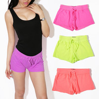 Women's Fluorescence Color Shorts