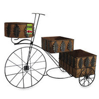 Gardman Espresso Planter Bike - Bed Bath & Beyond