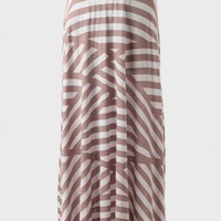 Wanderer Striped Maxi Skirt