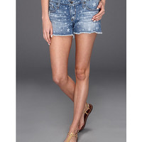 Big Star Remy Low Rise Cutoff Shorts in Scatter