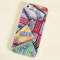 LovMe —  Sexy Durex Frosted Painting Phone Case For iPhone 4/4S iPhone 5