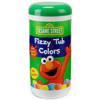 Sesame Street Fizzy Tub Color Tablets - 10.4 oz.