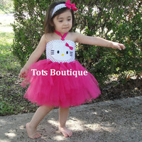 Kitty Tutu Dress - Toddler