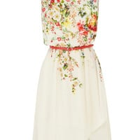Garden Ditsy Midi Dress
