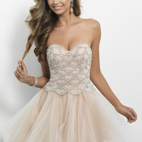 Blush Prom 9650 Elegant Cocktail Dress