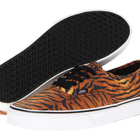 Vans Authentic™ (Tiger) Brown/True White - Zappos.com Free Shipping BOTH Ways