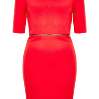 Zip Waist Bodycon Dress - New In This Week - New In - Topshop USA