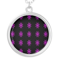 pinkwheel pendant from Zazzle.com