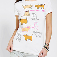 Urban Outfitters - Gemma Correll Cool For Cats Tee