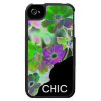 flower electric iPhone 4 case from Zazzle.com