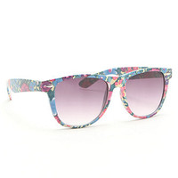 With Love From CA Tropical Sunglasses at PacSun.com