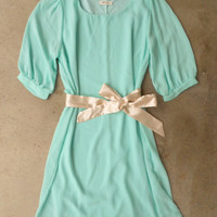 A Shift in Mint Dress [4152] - $36.00 : Vintage Inspired Clothing & Affordable Summer Frocks, deloom | Modern. Vintage. Crafted.