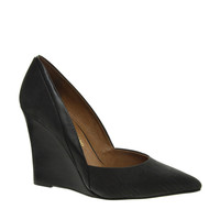 River Island Odent Black Two Part Wedges